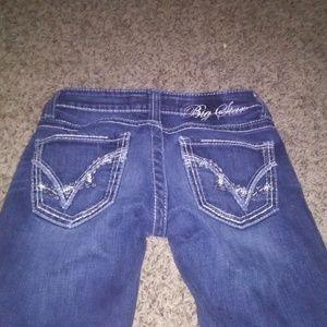 Big star jeans /sweet boot / ultra low cut /new